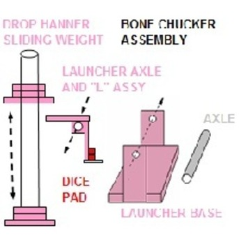 BONE CHUCKER CATAPULT DICE LAUNCHER