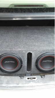 Subwoofer Box with 2 Subwoofers