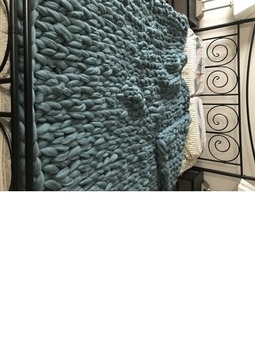 Australian Merino Wool Arm Knit Blankets